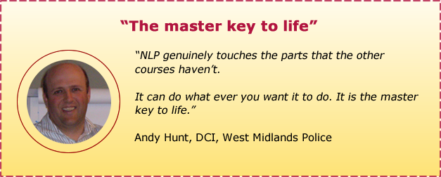 Andy Hunt testimonial