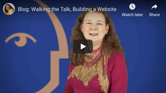 [Video] Walking the Talk, Building a Website