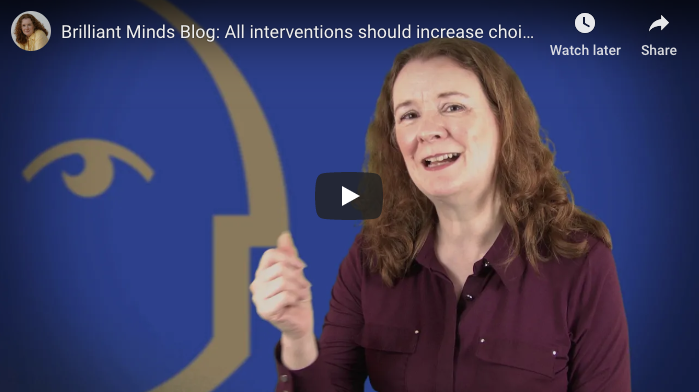 [Video] All interventions should increase choice