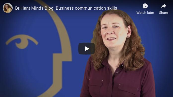 [Video] Business communication skills