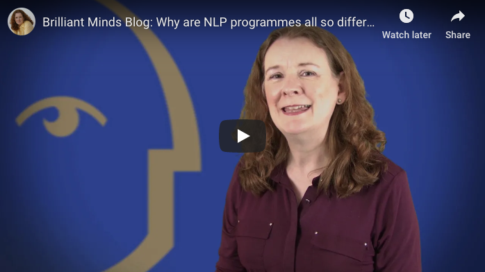 [Video] Why are NLP programmes all so different?