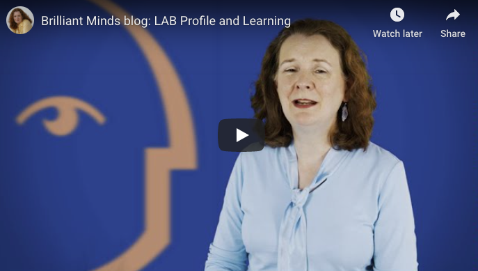 [Video] LAB Profile and Learning