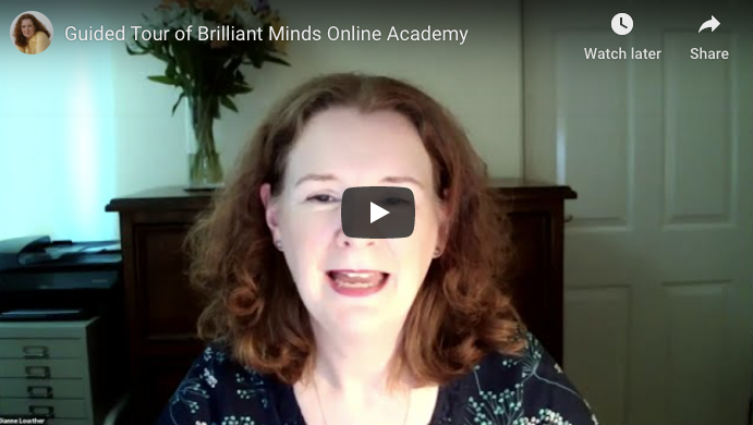[Video] Guided Tour of Brilliant Minds Online Academy